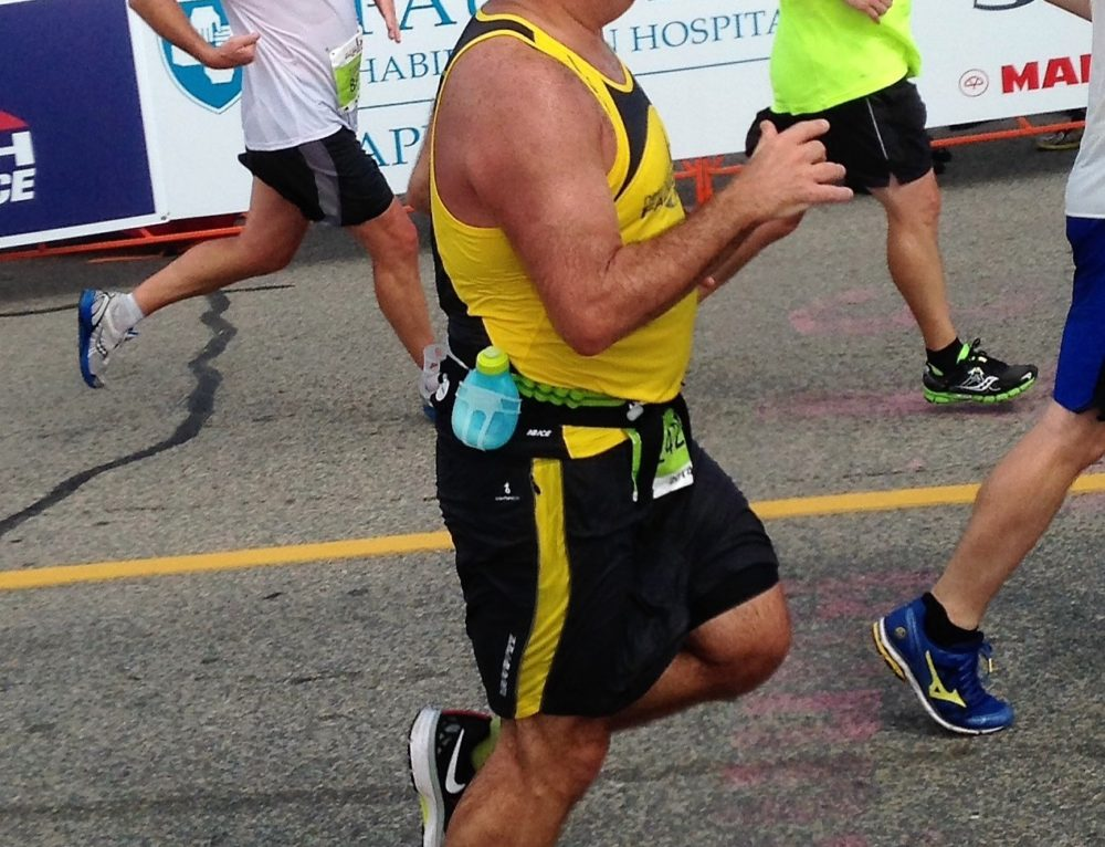 When the Falmouth Triathlon is across the street…join in!