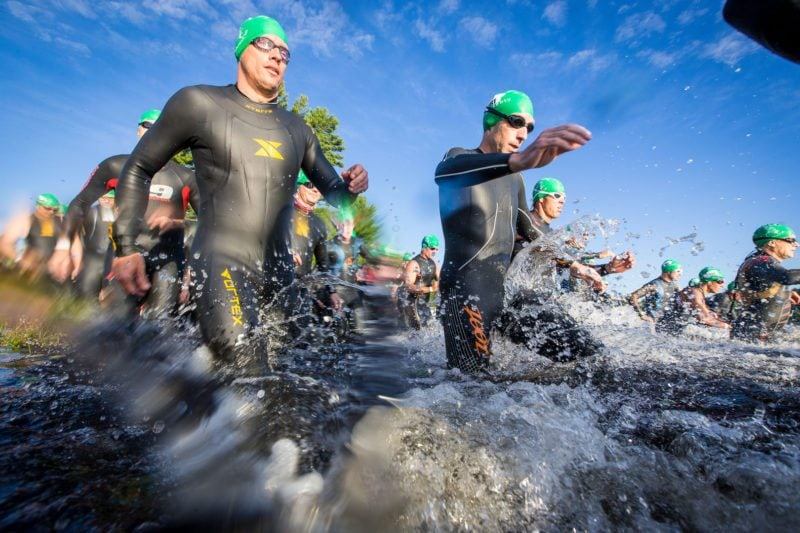 Swim into a triathlon with New England Endurance Events.