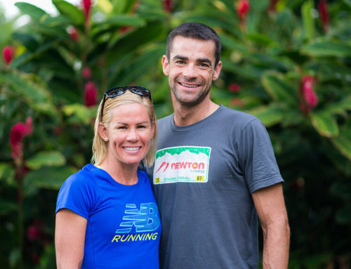 This weekend: Ironman Champs Mirinda Carfrae and Timothy O'Donnell are hosted by New England Endurance Events.