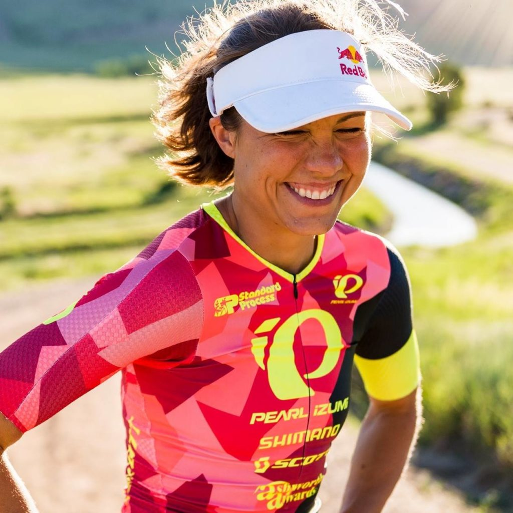 "Angela Naeth:  it's all about ""racing like a girl."""