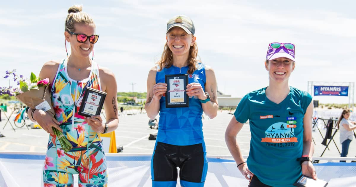 Hyannis Triathlon named 2020 Massachusetts Age Group — plus