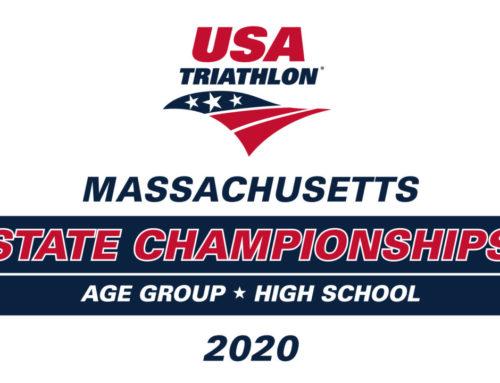 Hyannis Triathlon named 2020 Massachusetts Age Group — plus High School — State Championships.